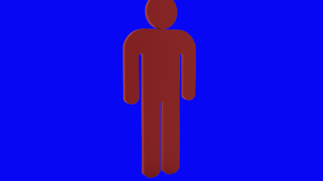 Red Man in a Blue World