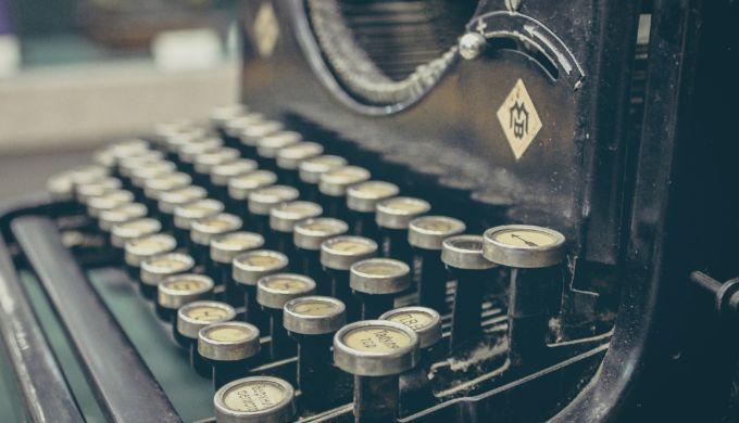 God at His Typewriter