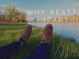 Why Rest (Part I)